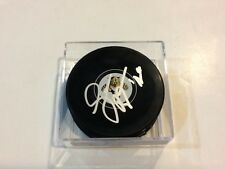 Sean Bergenheim Signed Florida Panthers Hockey Puck Autographed a