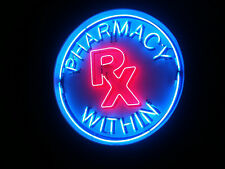 """Pharmacy Within RX Clinic Neon Sign 24""""x20"""" OT140L"""