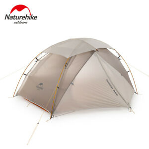 Camping 2 person Ultralight Double Layer Resident Tent Wild Snowproof PU4000+