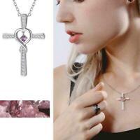 Anhänger Halskette Kreuz Herren Anhänger für Frauen Schmuck Halskette R7G0