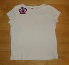 GYMBOREE PRETTY IN PLUM WHITE FLOWER TOP GIRLS SIZE 6 FALL COTTON