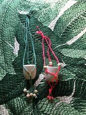 Brand New Decorative Hanging Mini Pots Set Of 2