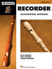 Essential Elements Recorder Classroom Method Book 1 for Beginner Music Lessons