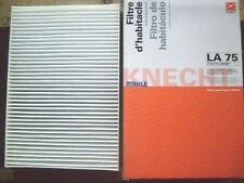 MAHLE KNECHT LA75 CABIN FILTER: FITS VAUXHALL/OPEL ASTRA 98 - All Models.