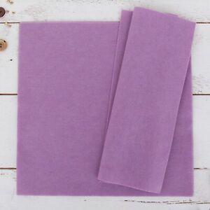"""Premium Felt Individual Sheets - 12"""" x 12"""" - 25 Colors - Soft Wool-Like 1.2mm"""