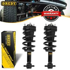 Kit (2) Complete Front Shock Struts Assembly For Chevy Avalanche Suburban 1500