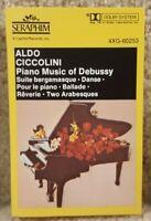 Vintage Cassette Tape Aldo Ciccolini Piano Music of Debussy Capitol Records