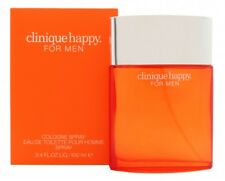 CLINIQUE HAPPY COLOGNE SPRAY EAU DE TOILETTE 100ML SPRAY - MEN'S FOR HIM. NEW