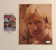 Chuck Norris Autographed Signed 8x10 Photo JSA COA