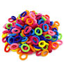 Girls 100x BABY SIZE HAIR TIES Multi Colours Elastic Spandex Head Bands