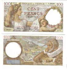 FRANCIA 100 FRANCS 1942PIK 94 UNC FDS LOTTO 828