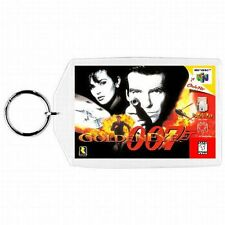 Nintendo 64 N64  GOLDEN EYE 007 Box Cover Game Cartridge  Keychain New