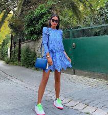 Lochstickerei Kleid Ebay
