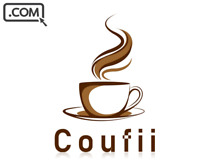 Coufii .Com Memorable Premium Names Coffee Brandable Domain Name for Sale