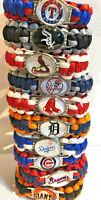 Major League Baseball MLB Team Logo Paracord Bracelet Wristband