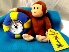 CURIOUS GEORGE Plush BALL CLOCK By APPLAUSE Gift New with tags New battery