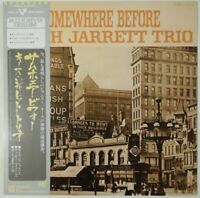 Keith Jarrett Trio Somewhere Before Vortex P-7529A OBI JAPAN VINYL LP JAZZ