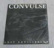 CONVULSE - Lost Equilibrium  CD Single 1993 Underground Series Relapse Mega Rare
