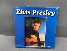 Ancien coffret de 3 disques d'ELVIS PRESLEY collection vinyle vintage