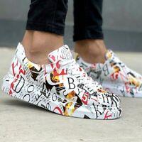 NEU Chekich CH255 Mag Sneaker | Herren Graffiti Schuhe | Turnschuhe | Mehrfarbig