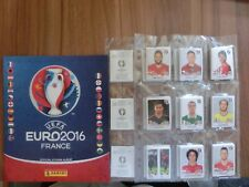 PANINI EURO 2016 France * loose Complete set + empty Album * versione GER