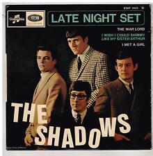 The SHADOWS   Let night set       7'  EP 45 tours