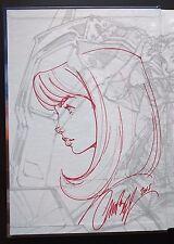 J SCOTT CAMPBELL FAIRCHILD Original Sketch Art TIME CAPSULE Excl Gen 13 SDCC LRG