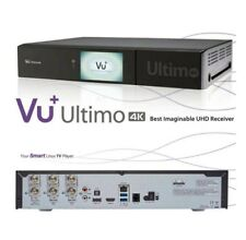 VU+ Ultimo 4K 1xDVB-S2 FBC Twin PVR Receiver E2 Linux UHD 2160p Receiver