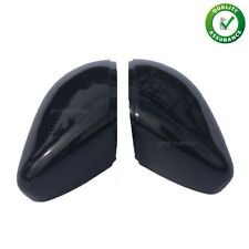 VW Mk6 Golf Mirror Cap Case Gloss Black Left & Right GTD GTI R Glossy