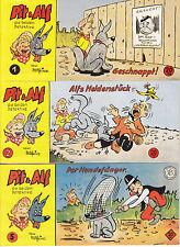 Pit & Alf Piccolos Nr. 1,2,5,7,8,11,12 Comics Hethke Z 0-1