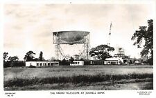 JODRELL BANK - THE RADIO TELESCOPE ~ AN OLD REAL PHOTO POSTCARD #99509