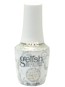 NEW Harmony Gelish Soak-off 0.5fl.oz GelColor 1110947- All That Glitters Is Gold