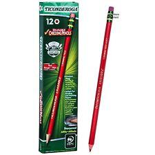 Ticonderoga Erasable Carmine Red 425T 14259 Checking Pencils