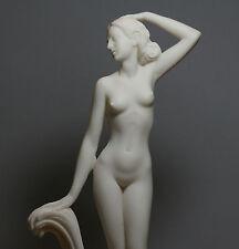 """Göttin APHRODITE Venus Nackte weibliche Abbildung Alabaster-Statue Skulptur 12 """""""