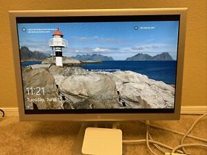 """USED Apple Display 20"""" Tested and Working - A1081 Aluminum DVI - With 65W PS"""