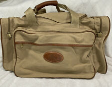Vtg Eddie Bauer Ford Edition Duffel Bag Canvas Carryon Outdoor Travel No Strap