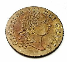 More details for 1797 king george gold lustre coin unusual shield find antique gaming token
