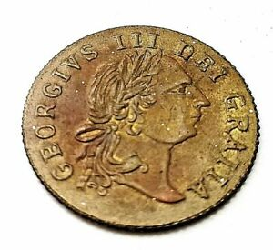 1797 King George Gold Lustre Coin Unusual Shield Find Antique Gaming Token