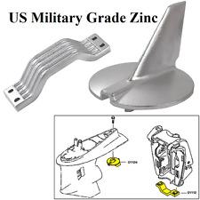 Yamaha 200 - 250 Hp Zinc Anode Kit New 21104 Military Grade Zinc Dealer Direct