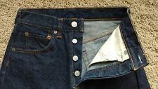 Vintage Levi's 501 Jeans 1960s - Size 28 X 30  (circa 1969)