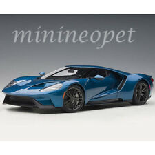 AUTOart 72942 2017 FORD GT 1/18 MODEL CAR LIQUID BLUE