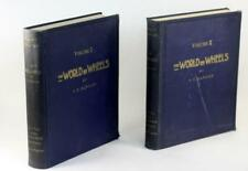 1927 The World on Wheels Vol 1 & 2 Early History of Automobiles H O Duncan HC