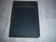 Pitman's Book-Keeping Simplified by Isacc Pitman & Sons, Ltd  Vintage Book