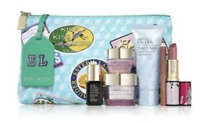 Estee Lauder 2021Resilience Multi-Effect 7-Pc. Gift Set Skincare Makeup Bag- NEW