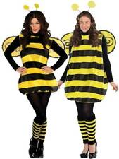 Ladies Darling Bumble Bee Costume Adults Bug Fancy Dress Outfit Insect STD - XL