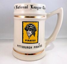 Pittsburgh pirates 1979 national league championship beer stein mug