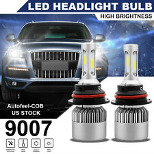 PAIR 9007 HB5 700W 84000LM LED Headlight Kit Hi-Lo Beam Bulb Lamp 6000K-6500K