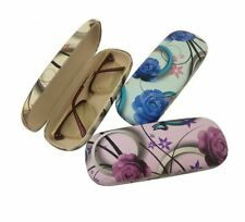 Flower Design Eyeglasses Case Printed Style Classic Fashionable Eye Wear Holders