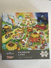 Rainbow Brite Rainbow Land Jigsaw Hallmark Puzzle 1000 Pieces Starlite Waterfall