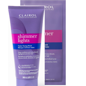 Clairol Shimmer Lights Violet Toning Mask   new fresh   you choose size